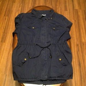 Womens Charlotte Russe Utility Jacket